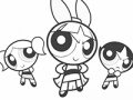 Powerpuff Girls Online Coloring Game